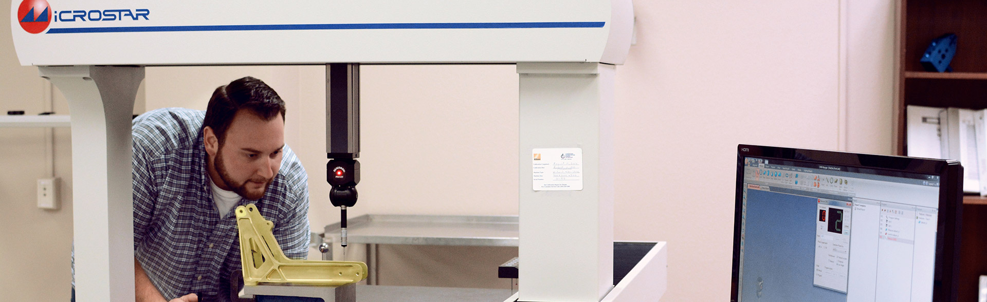 CMM to check Mechanical Dimensions against drawing requirements