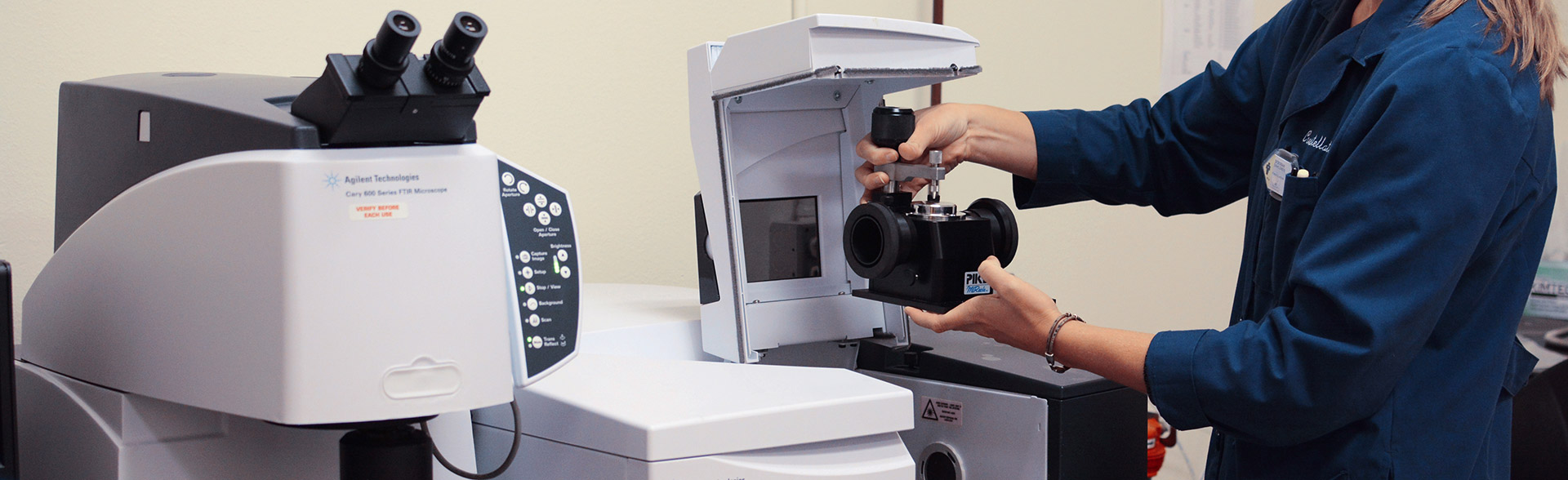 FTIR Spectrometer Used for Identify plastics and Polymers